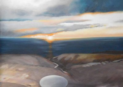 Winnie Pelz, Sunset at the Cape 2015