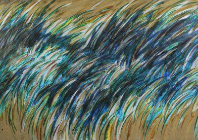 C01: Swing big, 274.5 x 137 cm, oil on canvas