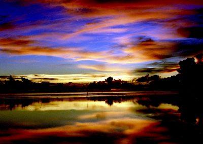C17: Dark purple dawn - photograph